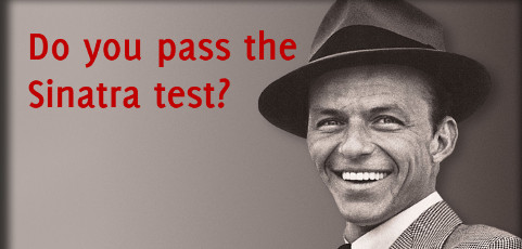 Credibility in public speaking: do you pass the Sinatra test?