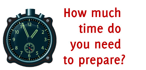 How much time do you need to prepare a successful presentation?
