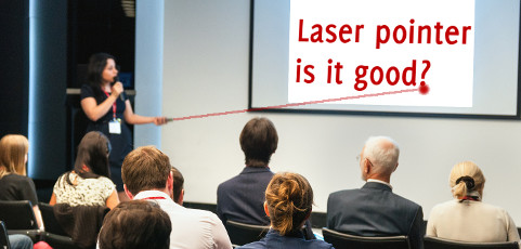 Laser pointer – is it good to use it in presentations?
